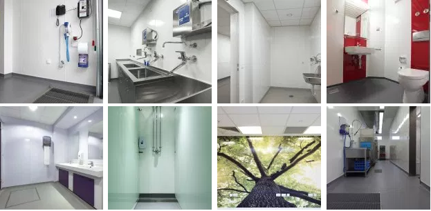 Hygienic Wall Cladding For Enhanced Safety And