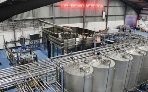IFT work on BrewDog eco-brewery in Ellon
