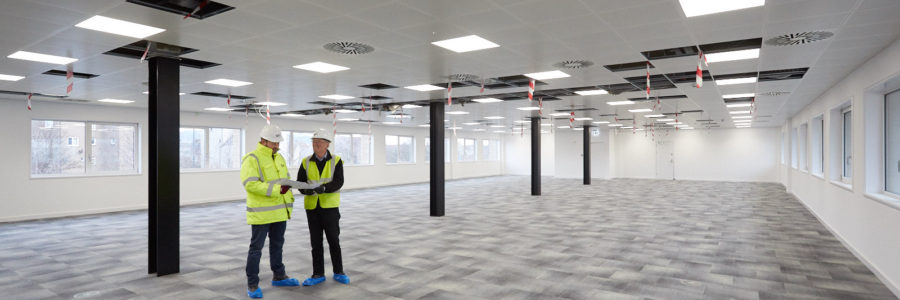 IFT install raised access flooring at South Gyle offices