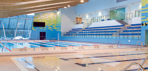 IFT carry out repairs to Stirling Sports Village swimming pool