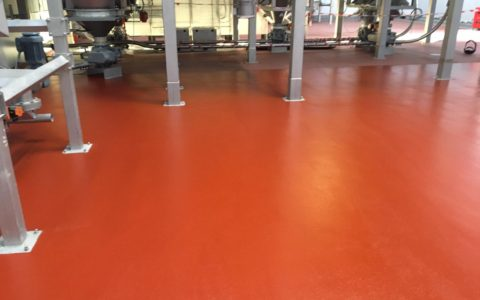 IFT complete flooring installation at KP's production facility