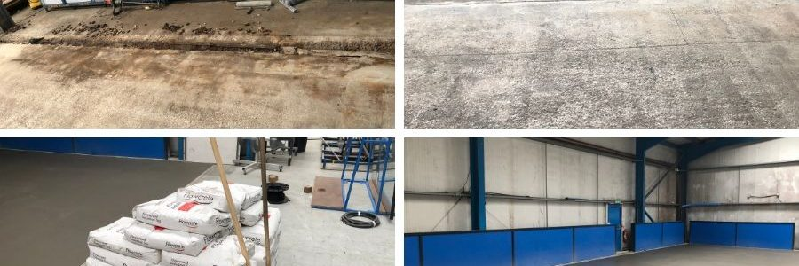 IFT repairs concrete floor for PSP Aluminium