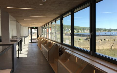 IFT installs screed and floor finishes at former Egg Shed in Ardrishaig