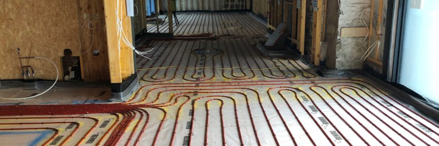 IFT carry out screeding works on the Isle of Bute