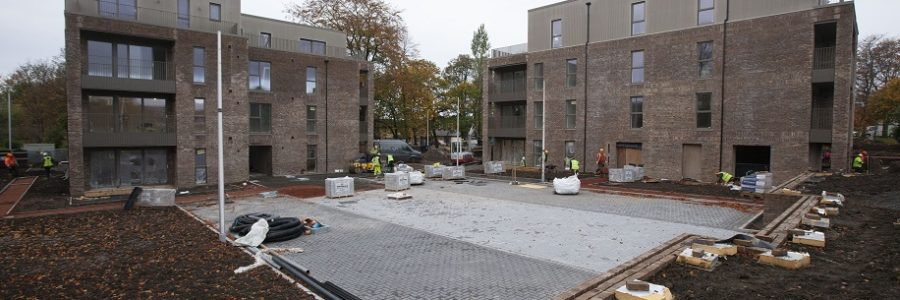 IFT installs flooring at CALA's new Jordanhill Park development